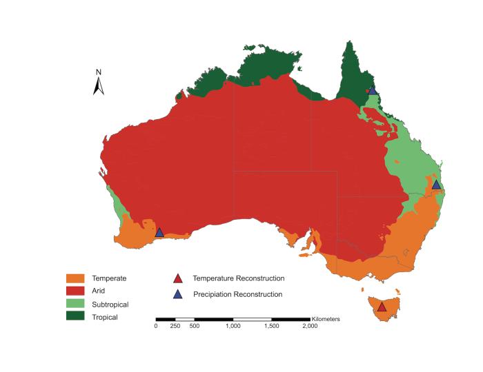 aus climate zones