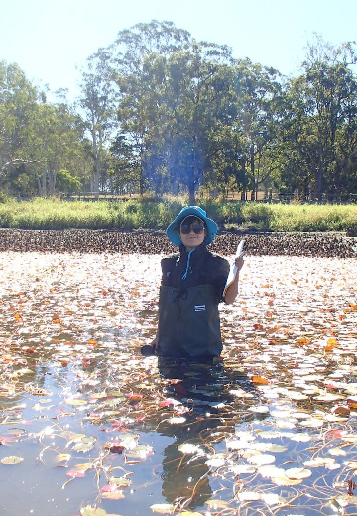 International student brings experience in ecological restoration toAustralia