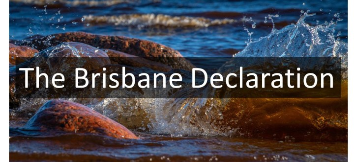 The Brisbane Declaration and Global Action Agenda on Environmental Flows
