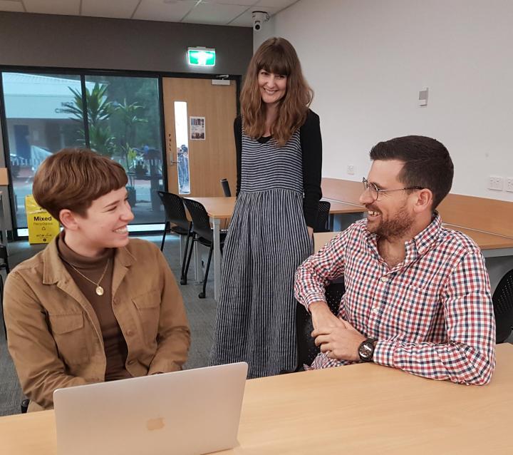 New Science Communications program at the Australian RiversInstitute