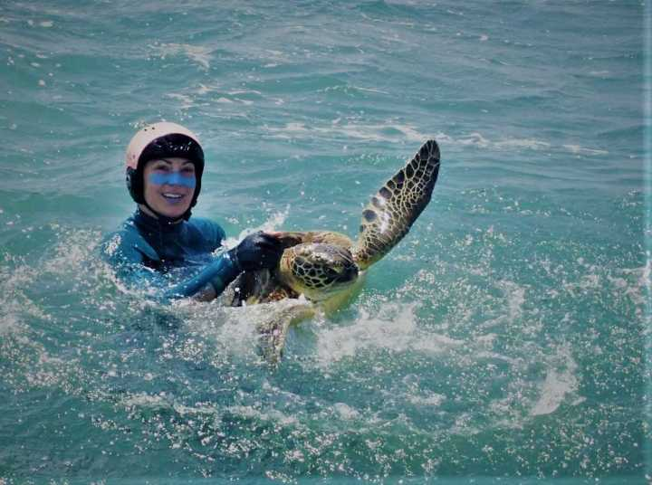 Fulfilling dreams – helping to protect Australia's sea turtles